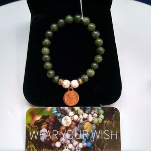 Wish Upon A Rock Bracelet NEW